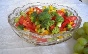 Brokuły sałatka