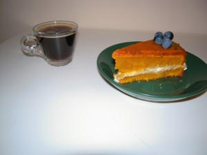 Piernikowe ciasto z dynią